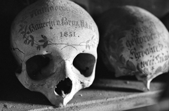 Empire Of Death: Bavarian painted skulls