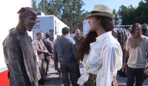 Eulyn Womble costume designer for The Walking Dead