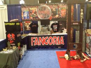 FANGORIA booth at Comi-Con 2013