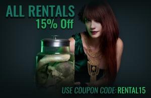 15% Off Rentals